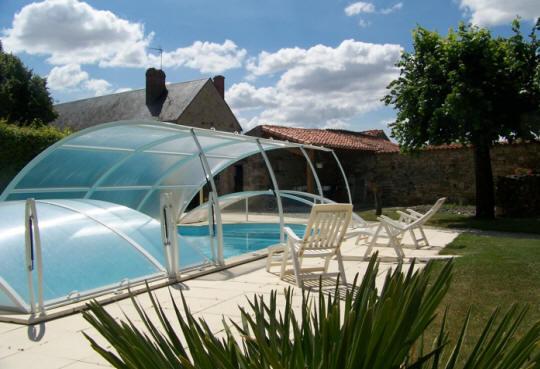 Bien connu Gite avec piscine en vendée CN53