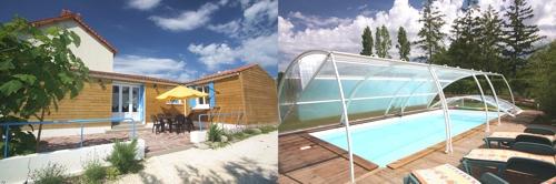 Gites avec piscine vendee for Camping marais poitevin avec piscine